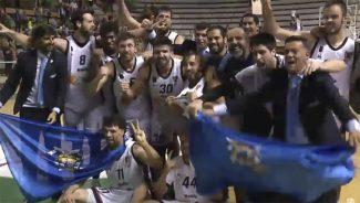 El Melilla, decano de la LEB Oro, consigue el ascenso a la ACB barriendo al Peñas (Vídeo)