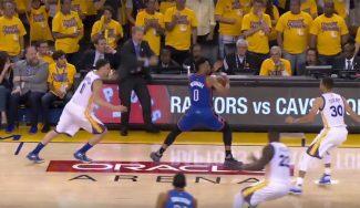 Kerr se queja y la NBA se pronuncia sobre los pasos clave no pitados a Westbrook (Vídeo)