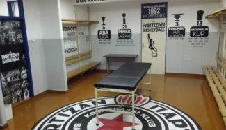 Una transformación alucinante: la del vestuario del Partizan en la Pionir (Vídeo)