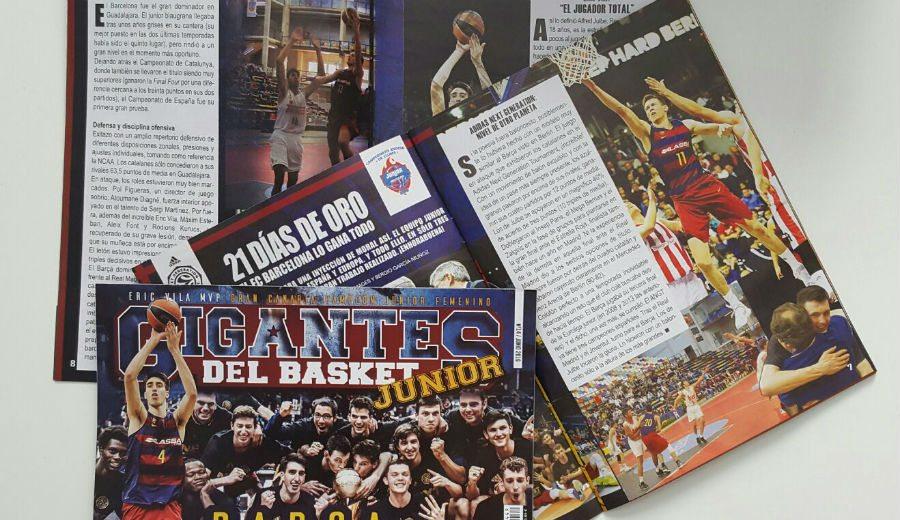 Un Barça arrollador, protagonista de la Gigantes Junior de este mes. ¡No te la pierdas!