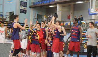 Una canción desde el sentimiento. Así celebró el Barça el título junior (Vídeo)