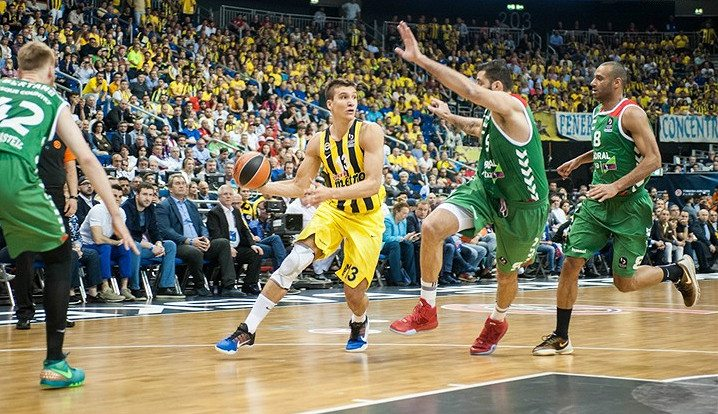 Bogdanovic, el verdugo del Baskonia en la prórroga con 9 puntos: «Sufrimos mucho»