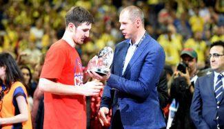 """De Colo, doble MVP: """"Piensan que es fácil porque somos el CSKA, pero no es cierto"""""""