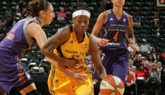 El Perfumerías ficha a la WNBA Erica Wheeler. Así juega la base titular de las Fever (Vídeo)