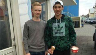 De la heladería a un 1 contra 1: un chaval de 14 años reta a Jeremy Lin en Islandia (Vídeo)