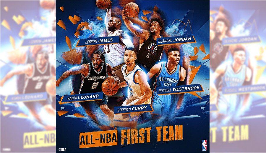 Mejor Quinteto NBA: Stephen Curry, elegido por unanimidad. ¡Y se mete DeAndre Jordan!
