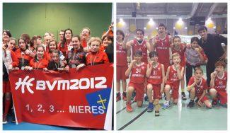 Mieres y Gijón triunfan en mini: campeones de Asturias en categoría alevín