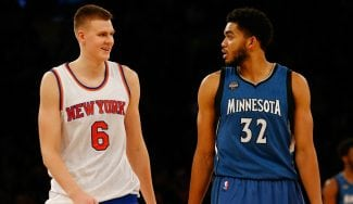 ¿Small ball? Porzingis y Towns, en el mejor quinteto de novatos NBA… ¡con 4 interiores!
