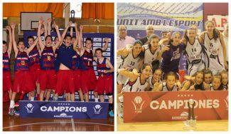 A Lugo por la puerta grande: FC Barcelona y Sant Adriá, campeones catalanes en infantil
