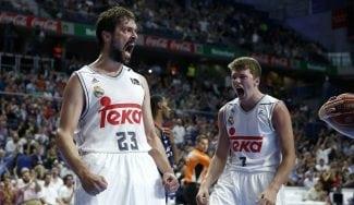 Ayón y Llull lideran al Madrid ante Baskonia. Matazos de Hanga… ¡y chapa de Carroll! (Vid)