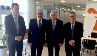 El Melilla se reúne con la ACB: pide prórroga y fraccionamiento del pago del canon para subir