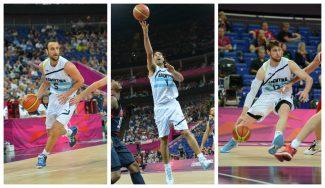 Argentina: Ginóbili, Scola y Nocioni lideran la preselección para Río, con 4 ACB entre los 20
