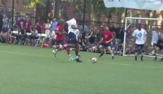Biyombo, pichichi: mete 4 goles en un partido benéfico organizado por Nash (Vídeos)
