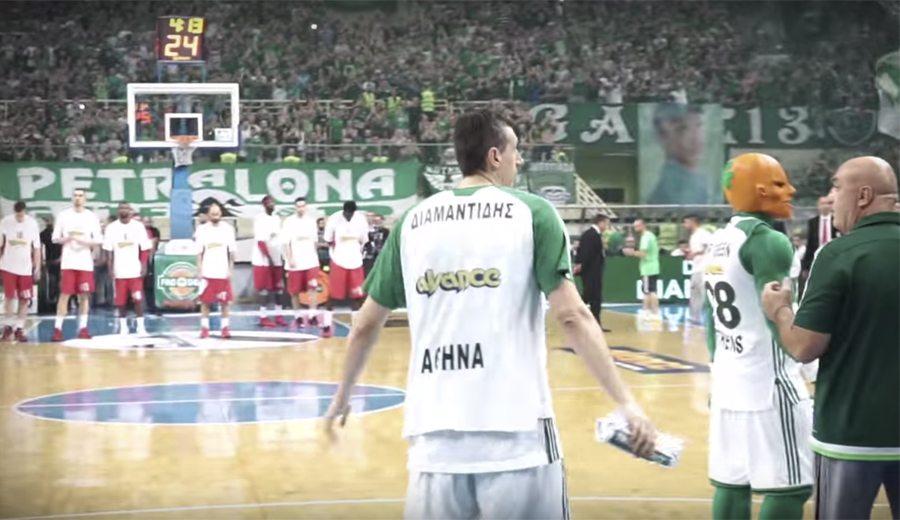 El adiós de una leyenda, desde dentro: así vivió Diamantidis su último partido (Vídeo)