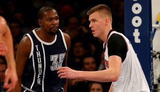 """Durant se deja querer por los Knicks: """"Tienen un buen equipo con Rose, Melo y Porzingis"""""""