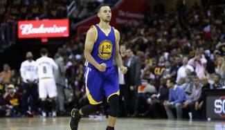 Los Warriors, a un triunfo del anillo con un brutal Curry. ¡Vaya festival de triples! (Vídeo)