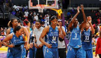 WNBA: las Lynx ganan el duelo de invictas ante las Sparks. ¡Vaya final de partido! (Vídeo)