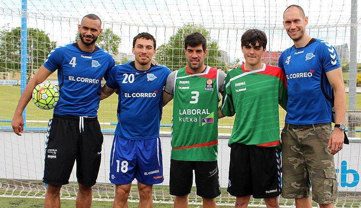 Baskonia: Mike James, Hanga y Tillie 'fichan' por el Alavés. ¿Cómo lanzan penaltis? (Vídeo)