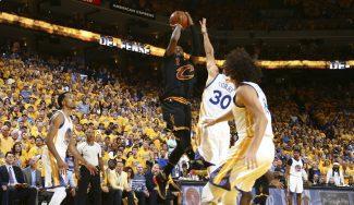 ¡Hay Finales! Irving y LeBron toman Oakland: suman 82 puntos y fuerzan el sexto (Vídeos)