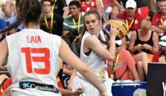 Se atraganta Nueva Zelanda: la selección femenina, como los chicos,pierde en el Mundial 3×3