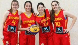 ¡Vaya comienzo! España femenina Sub18, dos de dos en el Mundial 3×3