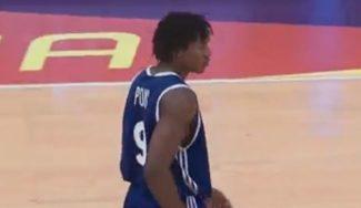 Mates con firma NBA: el francés Yves Pons la lía en el Mundial Sub-17. ¡Increíble! (Vídeo)