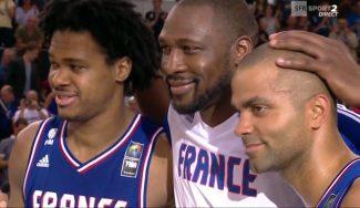 Gelabale, Pietrus y Parker, homenajeados en Francia y en la lista del Preolímpico (Vídeos)