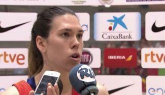 """Anna Cruz, 100 partidos con España: """"Es un orgullo pero demuestra que me hago mayor"""" (Vídeo)"""