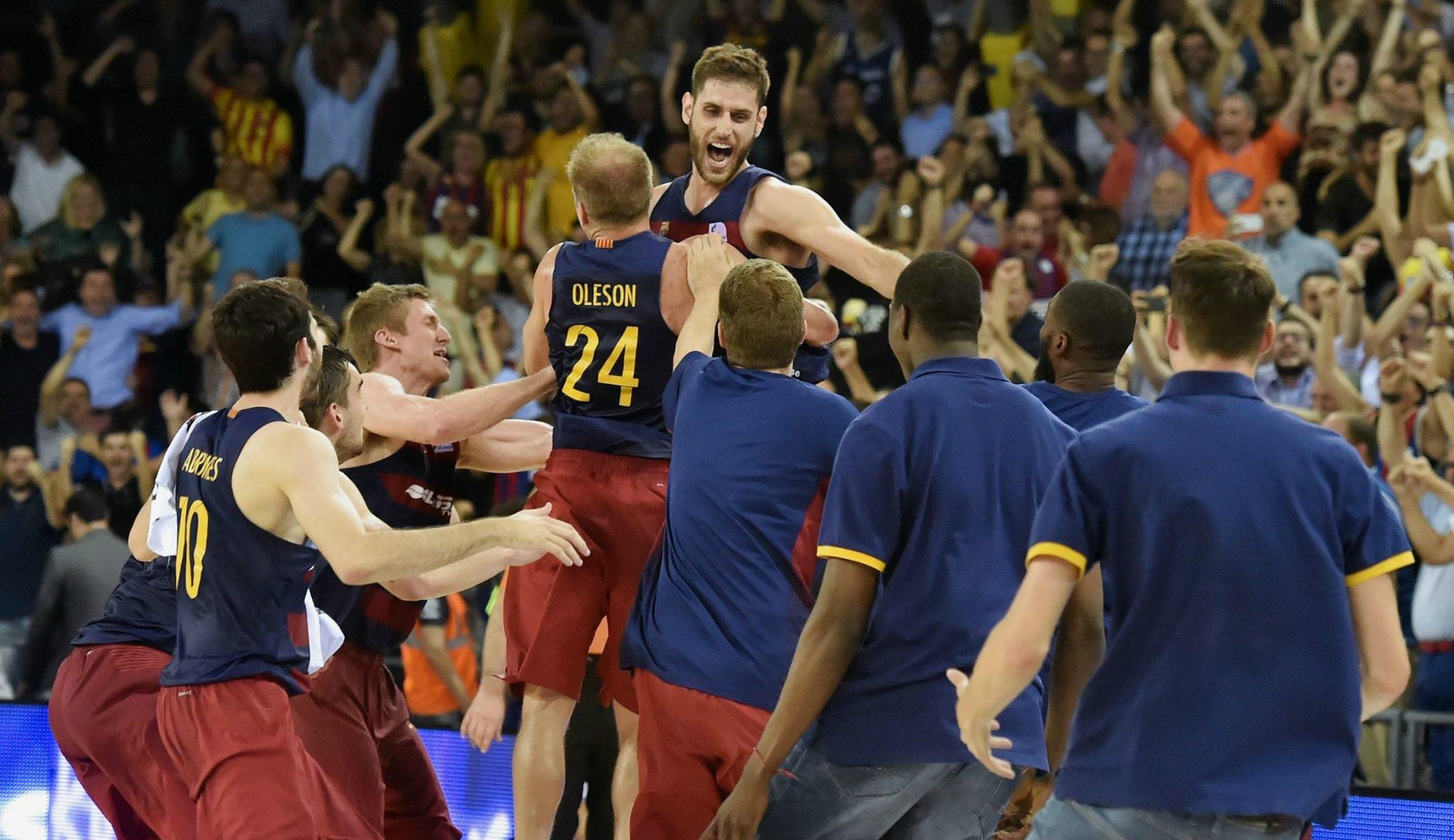 Perperoglou, héroe del triunfo del Barça para el 1-0 ante el Madrid. ¡Sobre la bocina! (Vídeo)