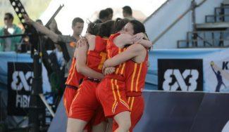 Dramático triunfo ante Hungría y España, a semis del Mundial 3×3. A las 12:45, a por la final (Vídeo)
