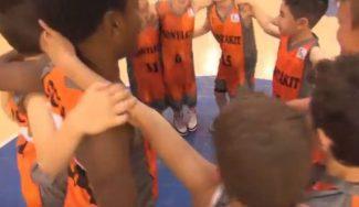 Un año disfrutando como niños. ¡Tremenda imitación ACB del Fuenlabrada! (Vídeo)