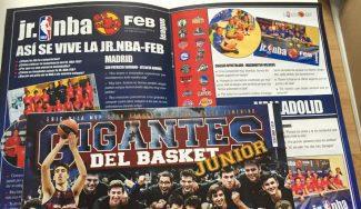 ¿Quieres estar dentro de un jugador de la liga JR. NBA-FEB? ¡Vaya experiencia en Gigantes Junior!
