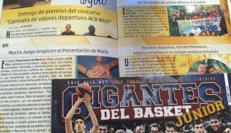 Las nuevas y espectaculares historias de ACB Next, en Gigantes Junior. ¡Merecen la pena!