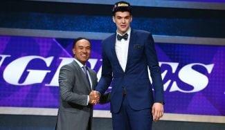 El croata Zubac quiere ir ya a los Lakers: tiene la camiseta de Pau y le comparan con Marc