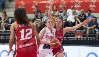 España sabe sufrir y remonta a Portugal: primer triunfo con dos triples finales de Lucía Rodríguez