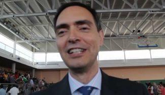 """""""El baloncesto es mi pasión"""". Al habla José Antonio Poveda, secretario general de ECM (Vídeo)"""