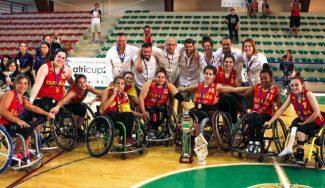 España gana el Europeo B femenino en silla de ruedas: séptima medalla en 12 años