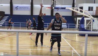 De perder con el hijo de Scola a imitar a Curry: Campazzo, en el entreno de Argentina (Vídeo)
