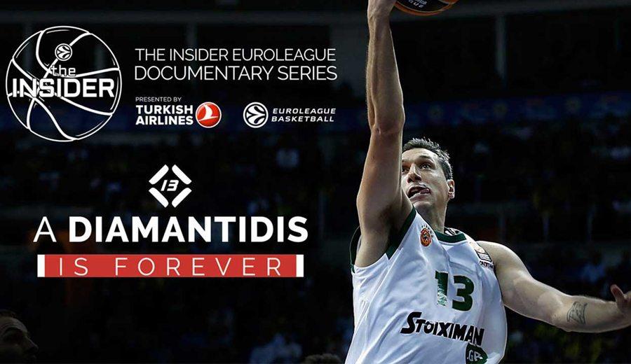 'Un Diamantidis es para siempre'. La Euroliga estrena documental del astro griego (Vídeo)