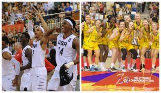 Australia, en chicas y Estados Unidos, en chicos, campeones del Mundial Sub-17 de Zaragoza