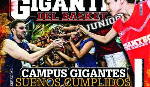 No te pierdas nada del Campus y el JR NBA Gigantes Camp, en nuestra revista Junior de este mes