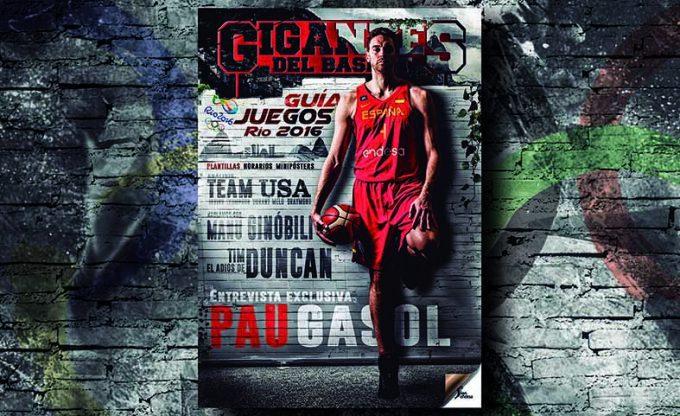 """Guía Olímpica Gigantes con entrevista exclusiva con Pau Gasol: """"El pasado no juega"""""""