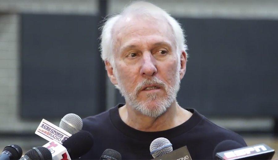 Popovich casi llora hablando de Duncan: «La persona más auténtica que he conocido» (Vid)