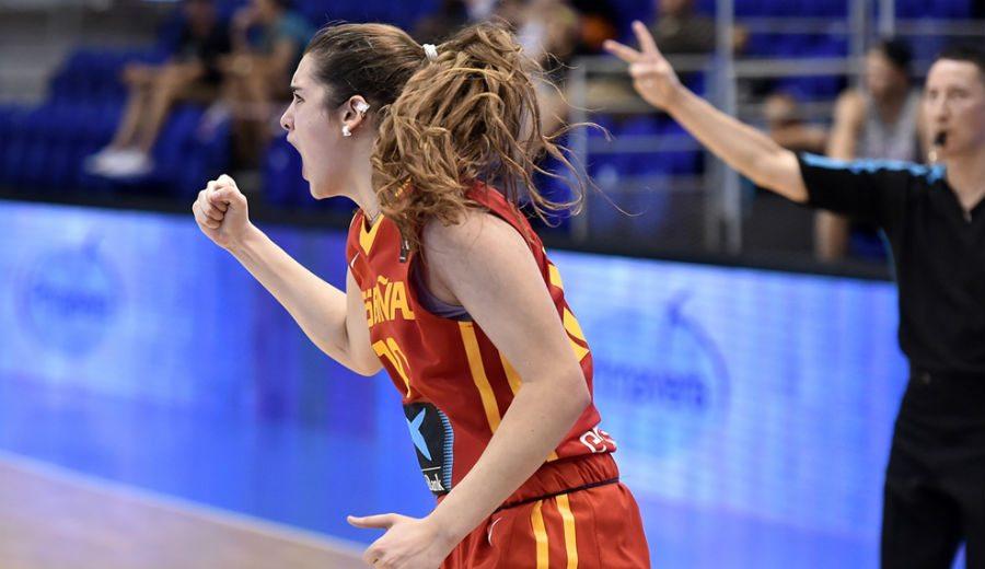 Paula Ginzo lidera a España hasta las Semifinales del Europeo Sub-18. ¡Pedazo de partido! (Vídeo)