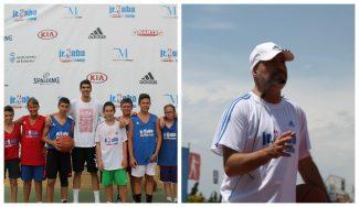 Mucha nostalgia: Javier Imbroda y Nacho Díez disfrutaron, y mucho, en el JR NBA Gigantes Camp (Vídeo)