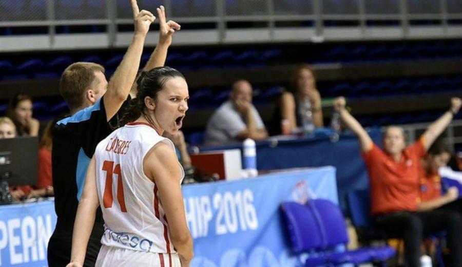 España se asegura la medalla con una exhibición ante Rusia. ¡A la Final del Europeo Sub-18!