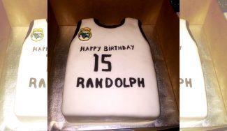 Anthony Randolph ya 'luce' la camiseta del Madrid: mira su tarta de cumpleaños (Foto)