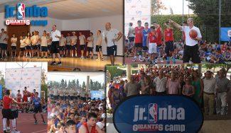 Brillante arranque del JR. NBA Gigantes Camp. ¡Así ha sido el primer día! (Vídeo)