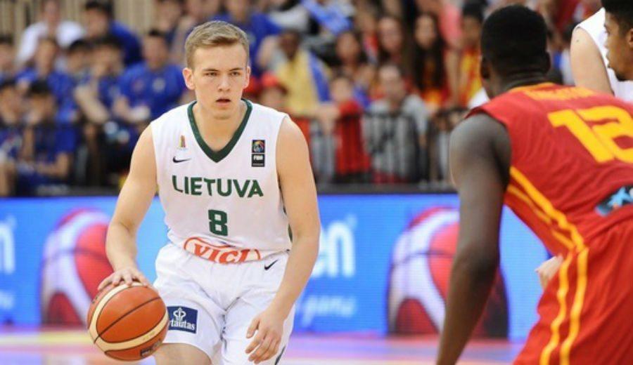 El Barça ficha al base lituano junior Velicka, bronce en el Mundial Sub-17. Así juega (Vídeo)