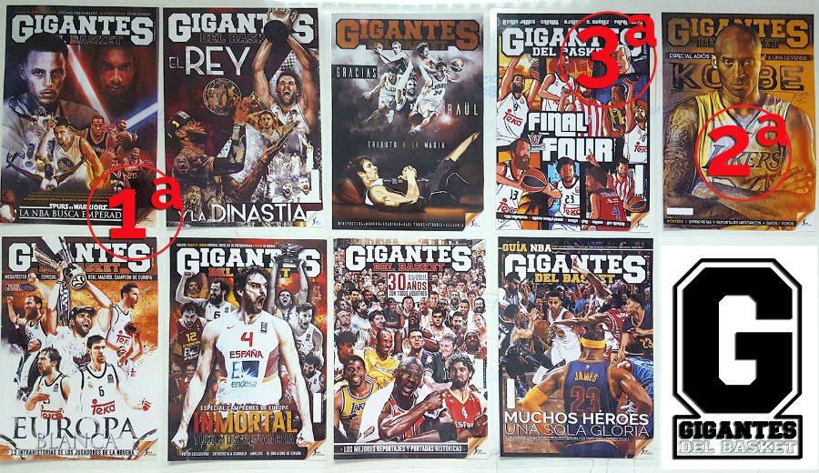Los jugadores del JR NBA Gigantes Camp eligen: esta es la mejor portada entre las 9 candidatas
